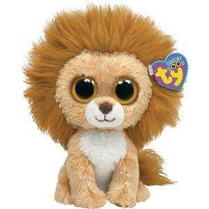 ... TY BEANIE BOOS BOO KING THE LION 6 PLUSH ... aac66b227229