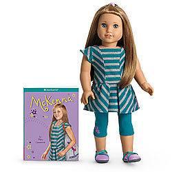 American Girl doll Mckenna doll &book, brand new in box