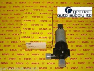 bosch Electric Water Pump