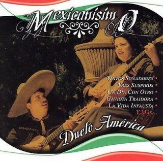 DUETO AMERICA   MEXICANISIMO NEW CD