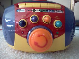 Tape Player Crayola Music Stories Audio Books Sing along colorful fun