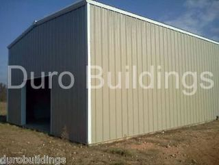 Duro BEAM Steel 30x40x22 Metal Building New Hay & Horse Barn Shop
