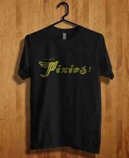 The Pixies are an American alternative rock band T Shirt Black S, M, L