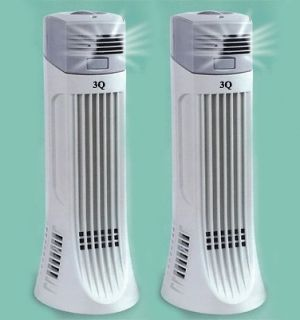 TWO NEW IONIC AIR PURIFIER PRO FRESH IONIZER BREEZE ION CLEANER AP01