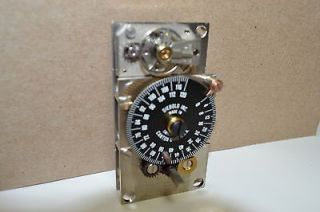017902 0 00 TIME LOCK BANK VAULT 120HR SAFE TIMER MOVEMENT CLOCK #55
