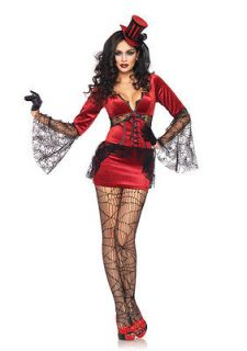 Biting Vamp Adult Woman Costume, Mardi Gras, Rio Carnival  Leg Avenue