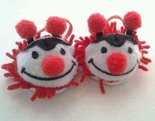 Lady Bug Slippers 4 American Girl Dolls Just Like You Me  Bitty Twins