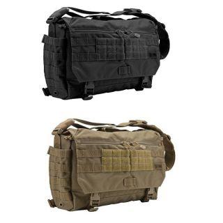 56962 Rush Delivery Messenger Bag Briefcase   Black OR Sandstone