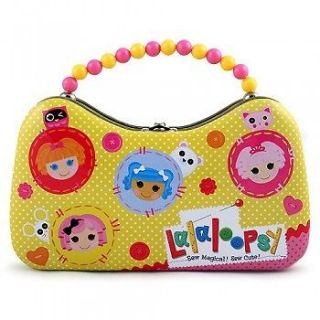 LaLaLoopsie La La Loopsy Tin Lunch Box, purse clutch, Sandwich Bag