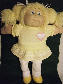 CABBAGE PATCH KIDS DOLL 1986 COLECO IC6 TAIWAN 16