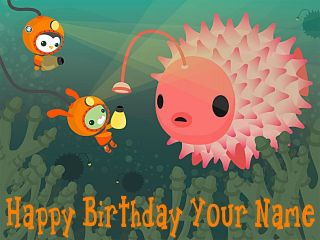 Octonauts   a   Edible Photo Cake Topper   Personalized   $3.00