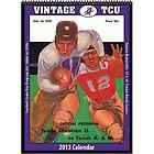 TCU Horned Frogs Vintage 2013 Football Program Calendar