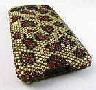 PRINT Rhinestone Bling Hard Case Cover HTC Inspire 4G Desire HD Phone