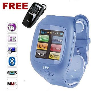 Unlocked Micro Touch Screen Camera  GSM Watch Cell Phone aT&T / T