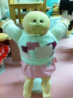 Cabbage Patch Kids Doll Little People Soft Sculptures 1978 Xavier