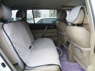 Waterproof Bench Seat Cover for Pets Car Seat Protector