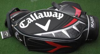 Callaway Golf BG CG Cart Bag 10.0 Razr Staff BLACK   NEW