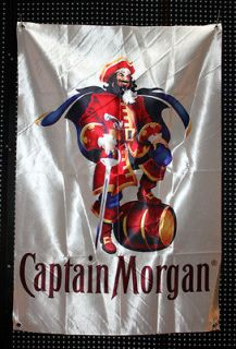 Captain Morgan Distillery Beer Sign Banner Flag B0043