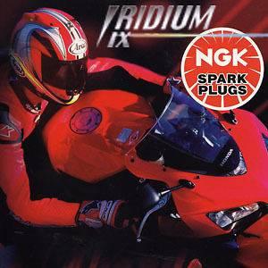 NGK Iridium Spark Plug CCM 640 RS (Rotax Engine) DR8EIX [6681]