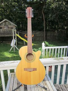 12 Strings Fender Electric Acoustic GuitarModel JG 12CE/12 NAT