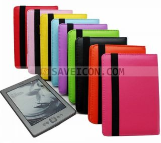 Premium Leather Pouch Case Cover for  Kindle 4 4th Generation