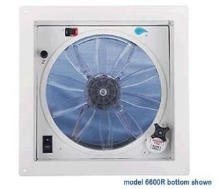 FANTASTIC FAN TASTIC VENT 6600R417 12 VOLT FAN THERMOSTAT DOME REMOTE