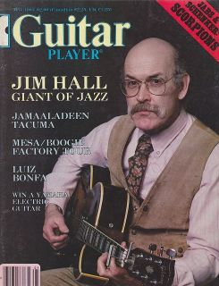 MAY 1983 GUITAR PLAYER old music magazine JIM HALL   JAZZ