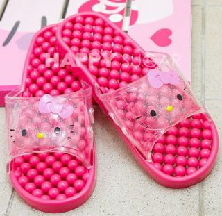 Hello kitty PINK Slipper SHOES for Bathroom Bath