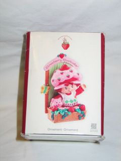 Cards Strawberry Shortcake Heirloom Collection Christmas Ornament
