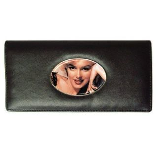 Marilyn Monroe Long Wallet imitation leather for Women Money Card