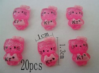 hello kitty 3d nail art in Nail Art