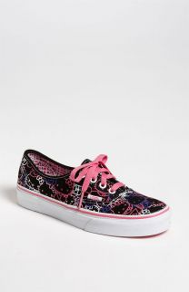 VANS AUTHENTIC HELLO KITTY BLACK PASSION FLOWER VN 0QER66Y ORG SO CUTE