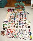 Of The Universe He Man Huge Lot Action Figures Castle 169 Pieces
