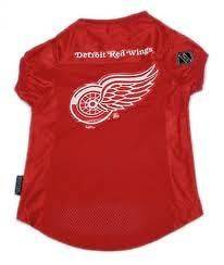 Detroit Red Wings NHL Pet dog jersey shirt (all sizes) NEW