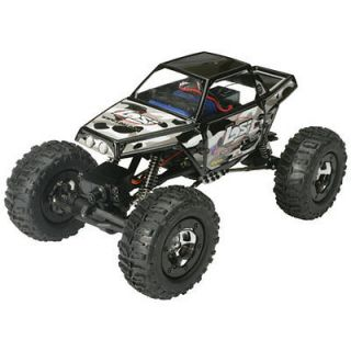 Losi LOSB0222 Black 1/18 Mini Rock Crawler 4wd RTR with Radio New