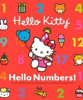 large format picture bks Hello Kitty Hello Numbers + My Best Book