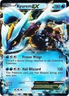 KYUREM EX Holo Pokemon Rare Card Tin Promo Next Destinies BW37
