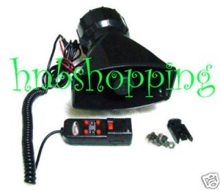 Hot 12V Loud Horn for Car Van Truck with 5 Sounds PA System