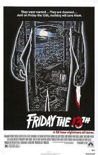 Jason Voorhees poster in Entertainment Memorabilia