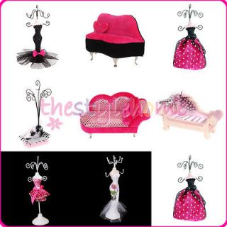 Fashion Beautiful Dress/Ring/ Jewelry Mannequin Holder Display Holder