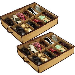 under bed shoe storage in Shoe Organizers