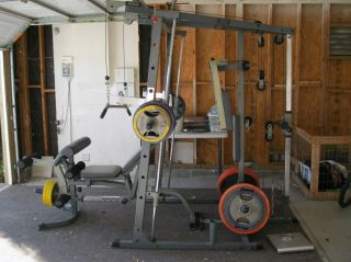 Impex Powerhouse Elite PHE 9000 Smith Machine Home Gym Olympic Weights