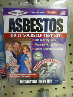Pro Labs Asbestos Do it yourself Test Kit, AS108