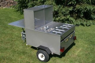 HOT DOG CART VENDING CONCESSION TRAILER STAND. BRAND NEW GLADIATOR