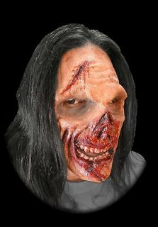 Hungry Zombie Full Face Foam Latex Prosthetic Mask Appliance