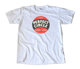 Vintage Perfect Circle Piston Rings Decal T Shirt