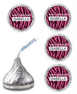 pink zebra print party supplies