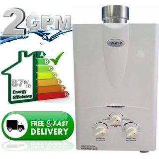 Hot Water Heater Natural Gas 2.0 GPM 1 2 Bath home on demand hot