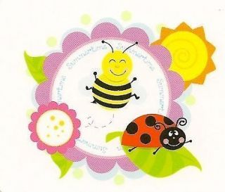 Bee & Ladybug Edible Image ~ Edible Image Icing Cake Topper ~ LOOK