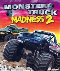 Monster Truck Madness 2 PC CD drive race huge vehicles crush car